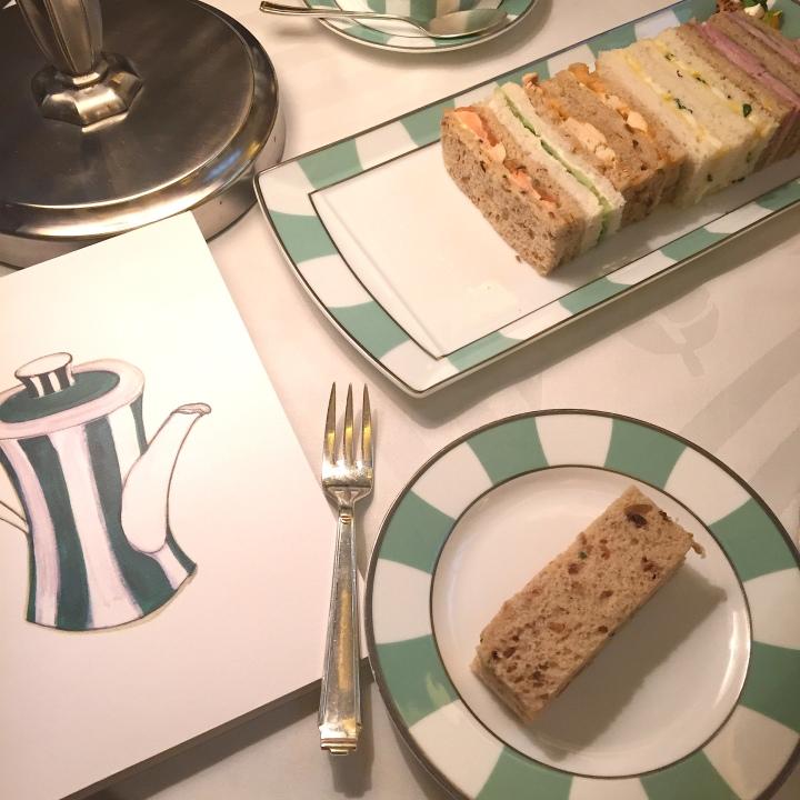 Tea Time at London's classic Claridge's