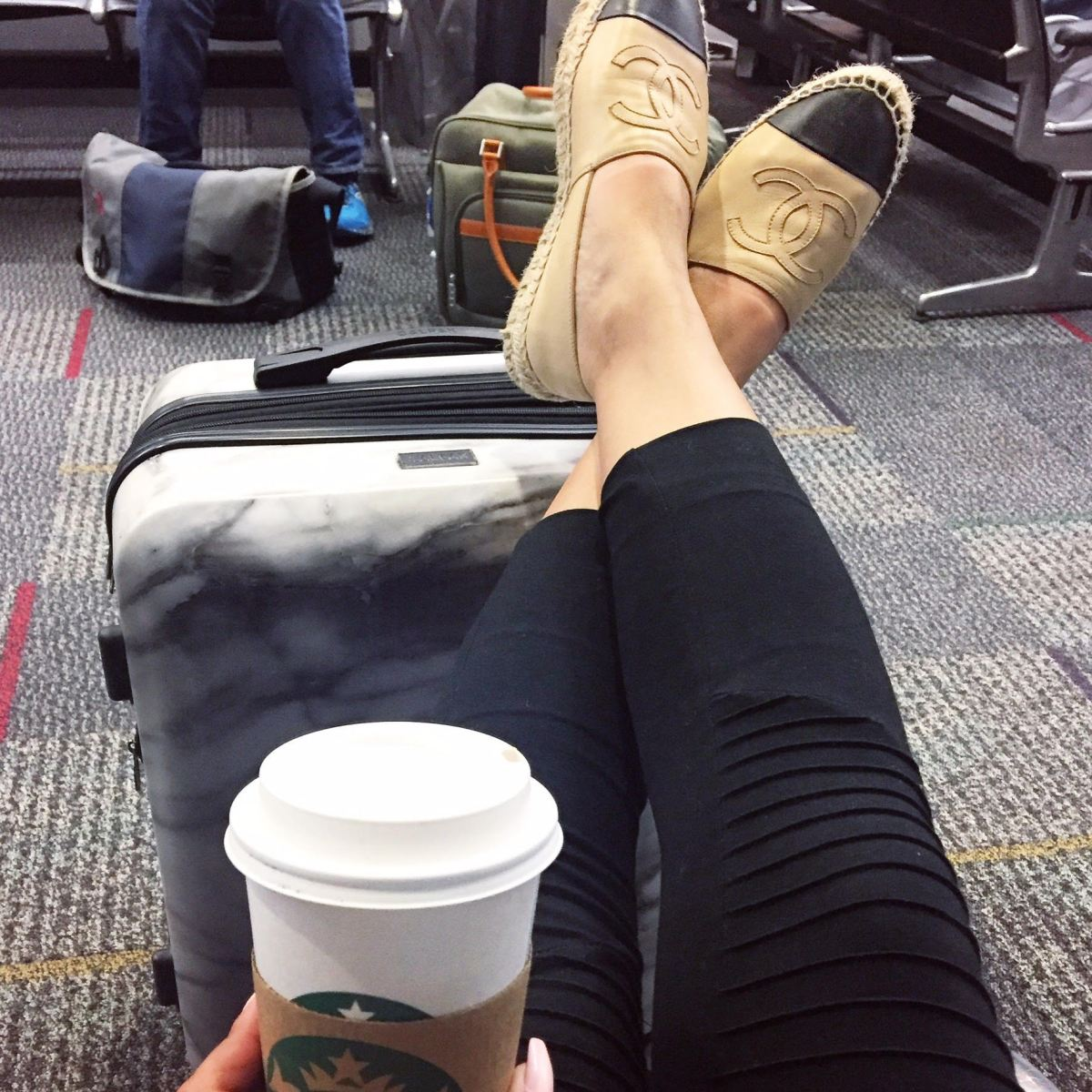 Holiday Travel Series: CALPAK Marble Carry-On Review