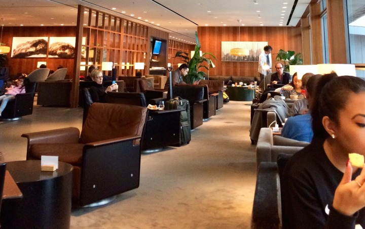 'RTW Travel Series: Cathay Pacific Business Lounge atHKG