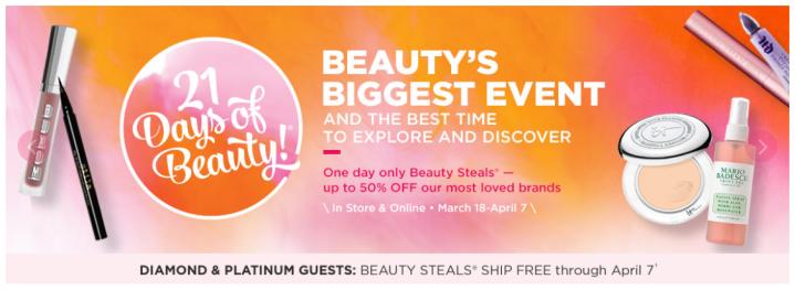 Week 1: Ulta's 21 Days of Beauty – My Top Picks for BeautySteals